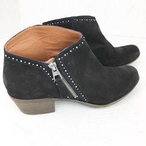 🍀 SZ 8.5 Lucky Brand Black Studded Booties